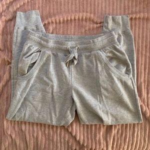 Grey Jogger Sweatpants